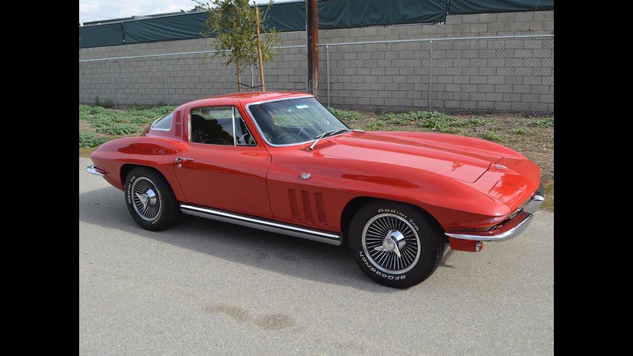 SOLD 1965 Chevrolet Corvette Coupe for sale by Corvette Mike