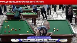 CQ Cue Sports City v Country 8 Ball Mackay v Gladstone