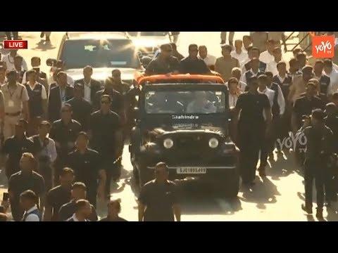 PM Modi LIVE   Narendra Modi Vote Casting LIVE From Ahmedabad   BJP LIVE   YOYO TV LIVE