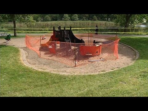 New Hope police investigate playground arson