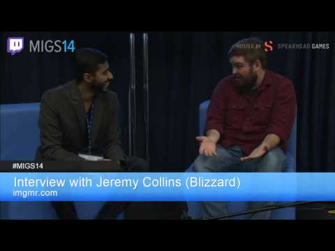 MIGS14: IMGMR - Interview with Jeremy Collins (Blizzard Entertainment)