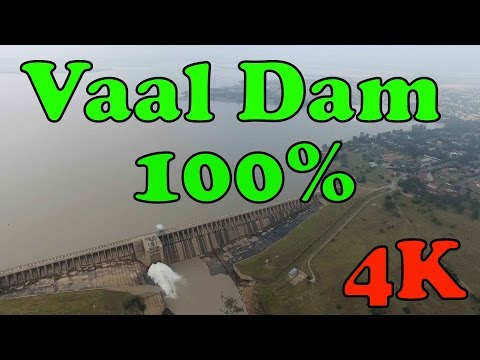 Vaal Dam 4 (at 100%) in 4K