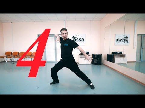 Уроки лезгинки от Аскера (NEW) - Часть 4 / Боковой ход, повороты, переходы, точка после подбивки.