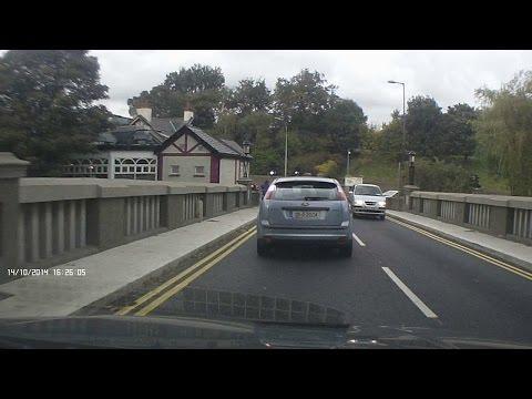 Dash Cam Ireland - Nutgrove Avenue to Dartry Road, Dublin