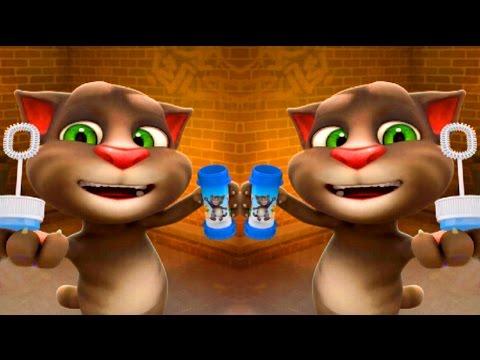 ГОВОРЯЩИЙ ТОМ #4 и Говорящий Кот ТОМ ДВА Говорящих КотикаТОМА - Мультфильм Игра