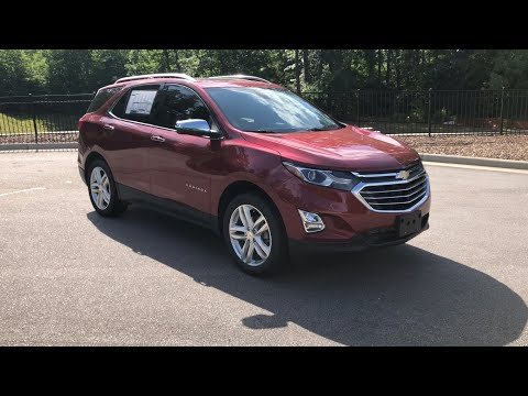 2019 Chevrolet Equinox Premier Review Features and Test Drive