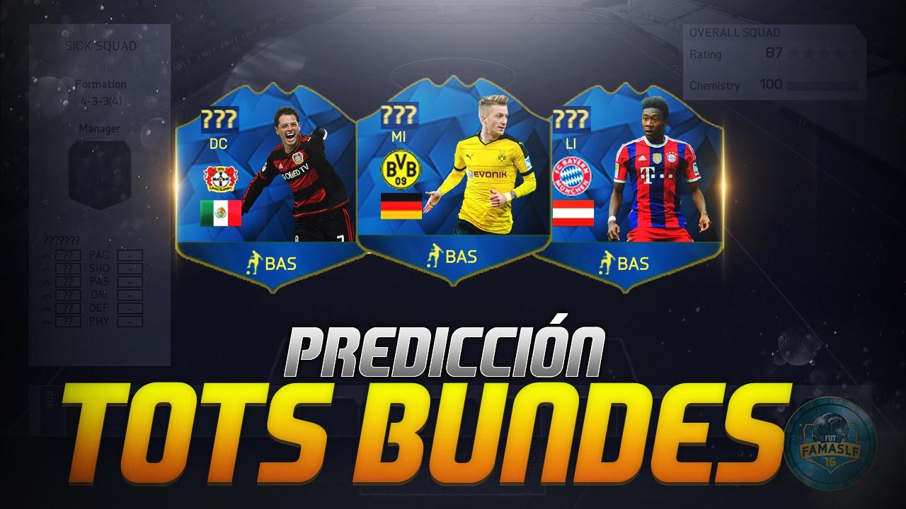 Tots Bundesliga Fifa 16