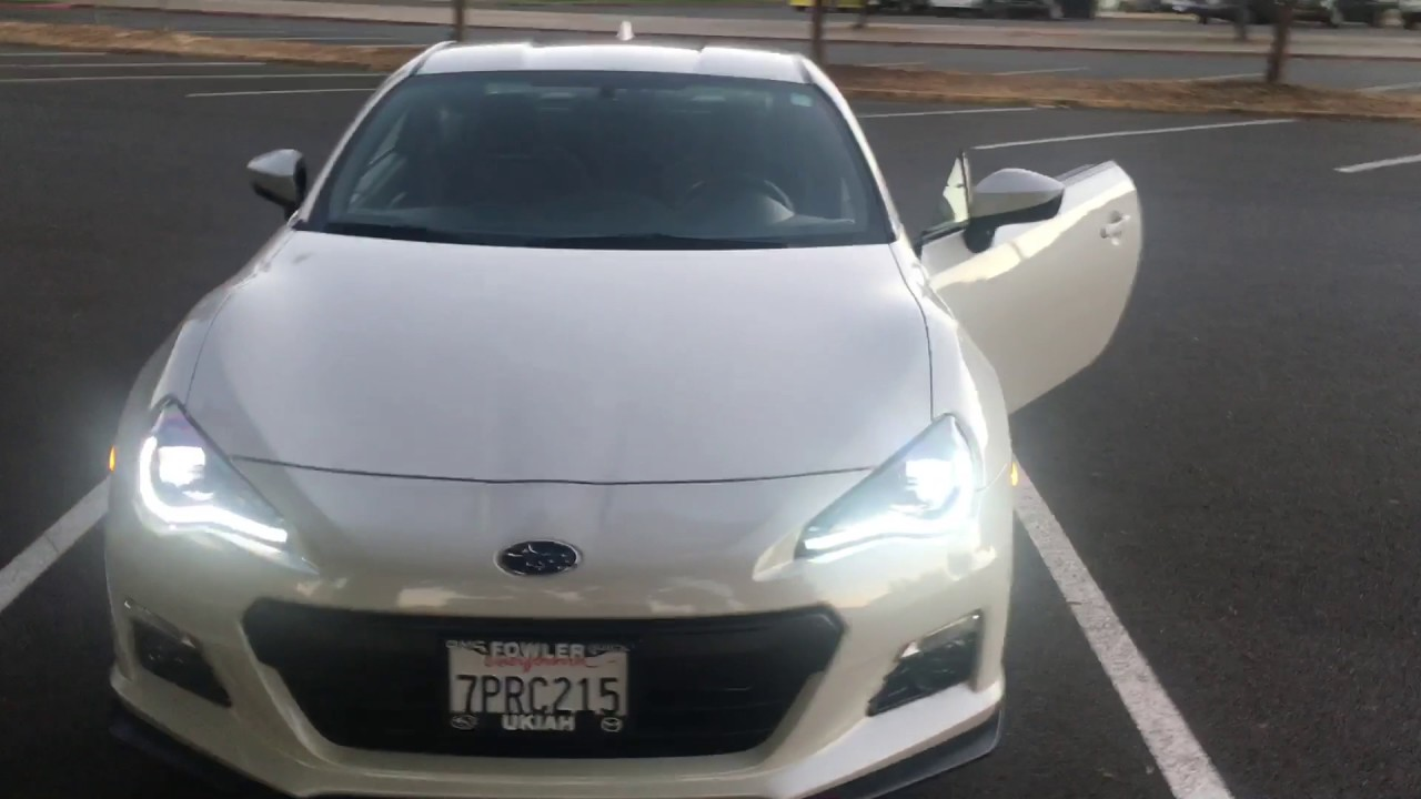 Intec  Coplus Led Headlights For Subaru Brz