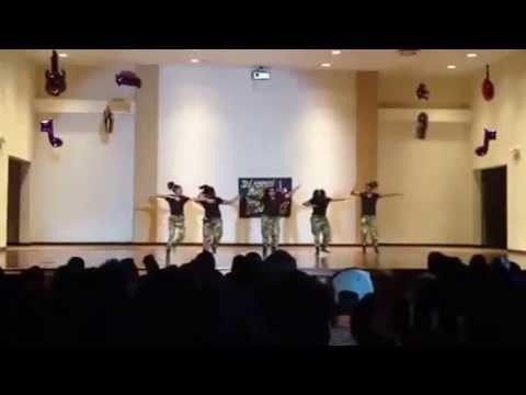 Desoto East middle school step team 2012