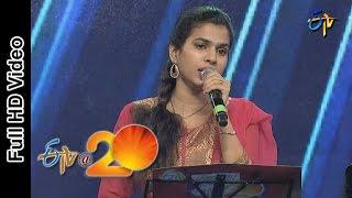 Sravana Bhargavi Performance - X pichi Y pichi Song in Vijayanagaram ETV @ 20 Celebrations