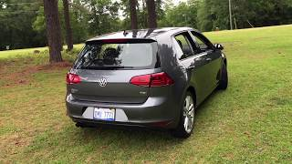 Best Detailed Walkaround 2017 VW Golf TSI SEL
