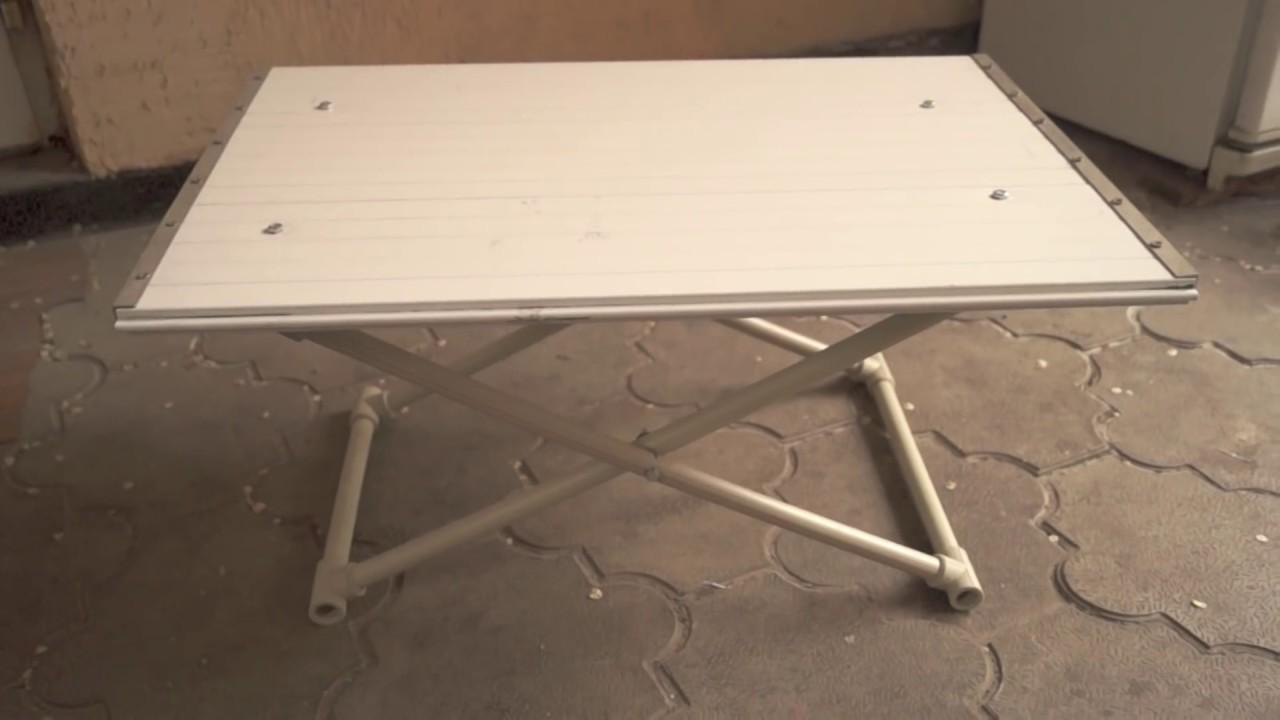 Как сделать походный стол фото 536