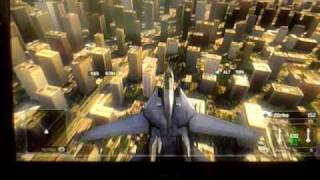 Tom Clancy's H.A.W.X. gameplay (xbox 360)