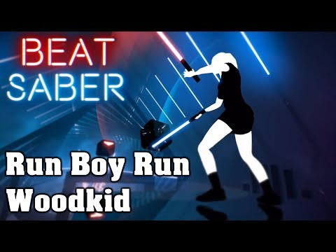 Beat Saber - Run Boy Run - Woodkid (custom song) | FC