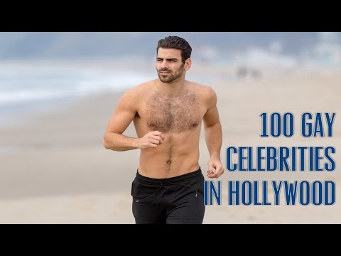 Top 100 Gay/Bi/Fluid Male Celebrities in Hollywood in 2017