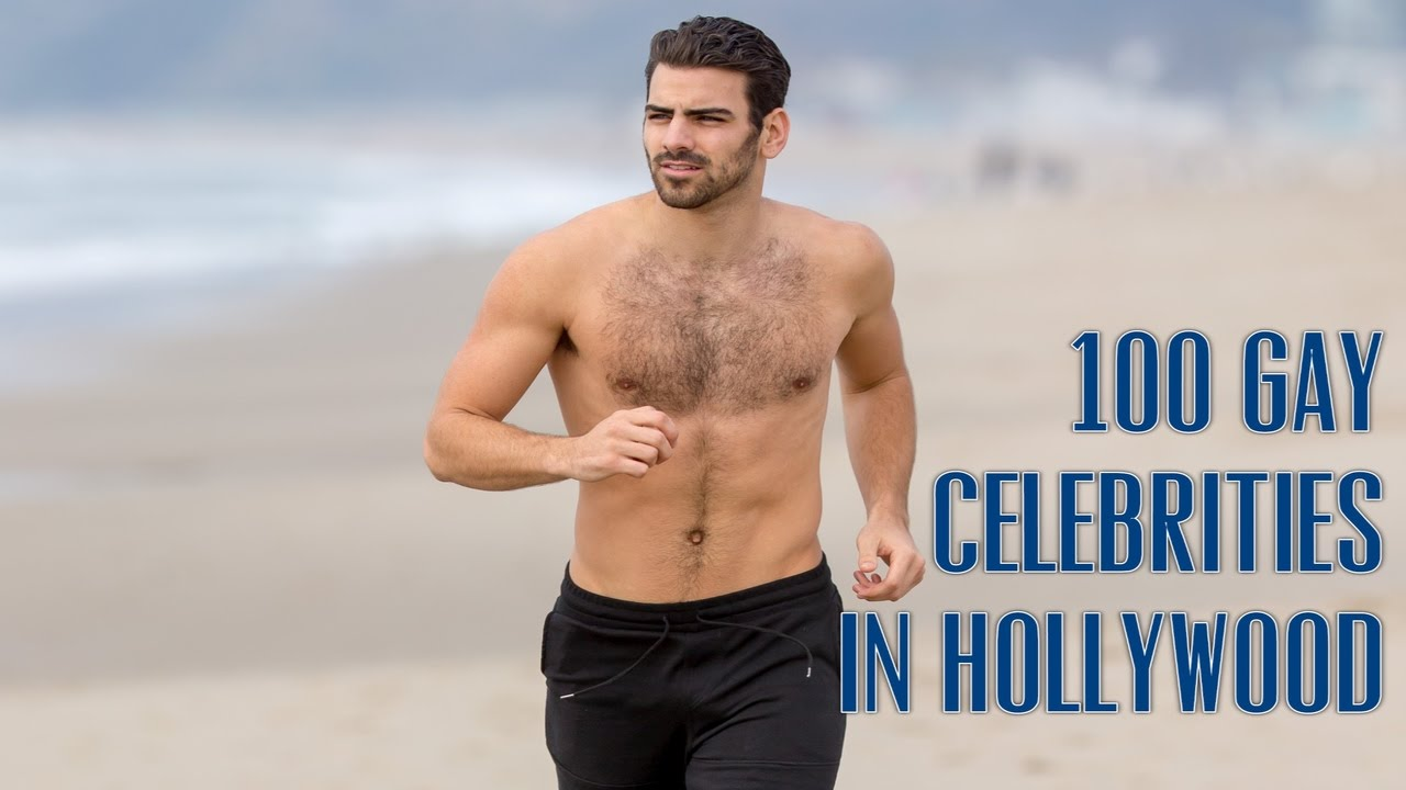 Top 100 Gay/Bi/Fluid Male Celebrities in Hollywood in 2017 - YouTube