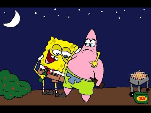 Spongebob and Patrick DRUNK