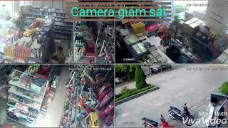 Camera giám sát cửa hàng tiện ích