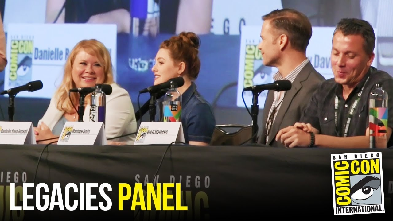 LEGACIES Full Panel at San Diego Comic Con 2018