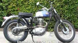 erheriada bsa victor 441 enduro features specification