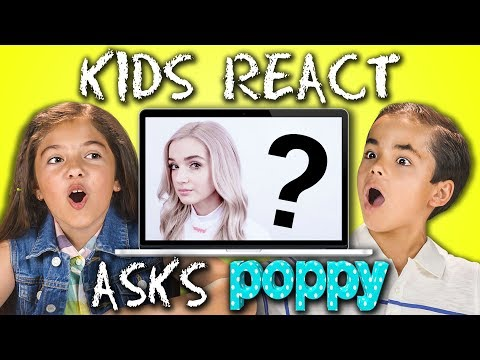 Thumbnail: POPPY ANSWERS KIDS REACT'S QUESTIONS!