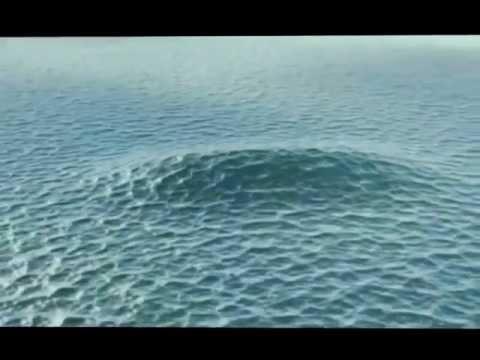 Tsunami August 31, 2012 - Pacific Ocean