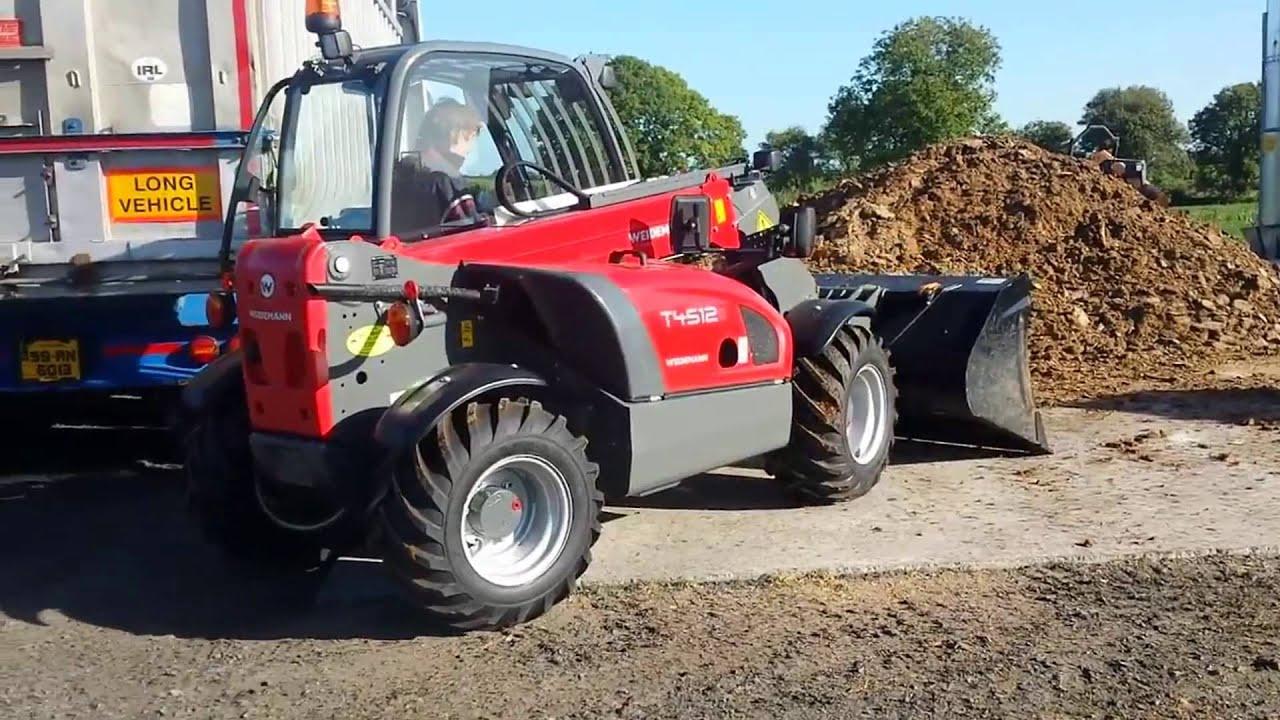 Super Weidemann T4512 Loading a Lorry in County Cork - YouTube #OV_04