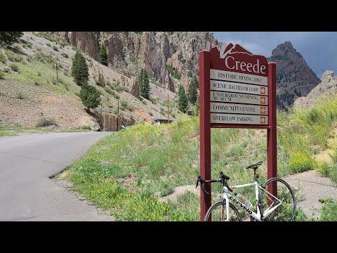 Livestream Riding Bike To Creede Colorado, 9000' Elevation