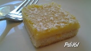 Lemon Squares ~ Lemon Lovers Treat