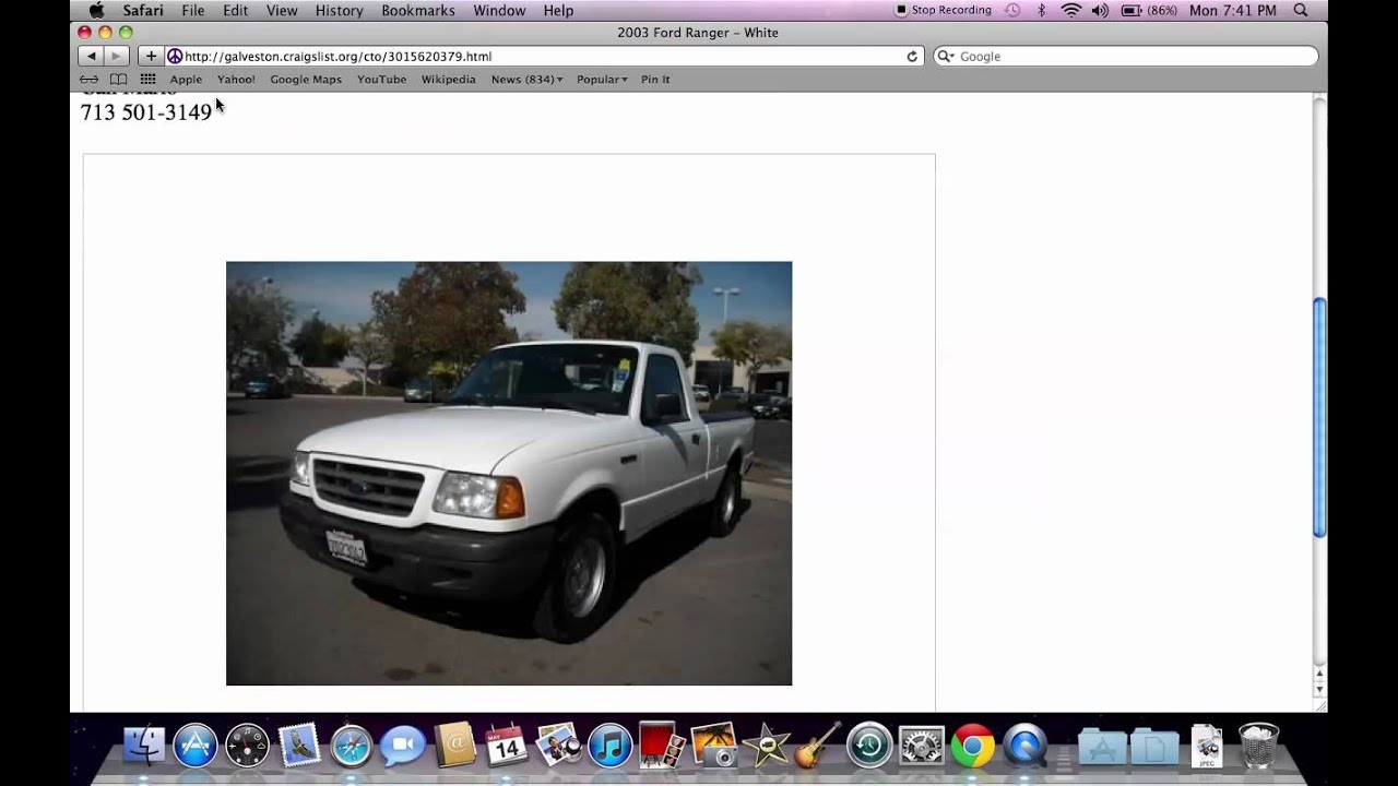 Craigslist Galveston Texas Local Used Cars And Trucks