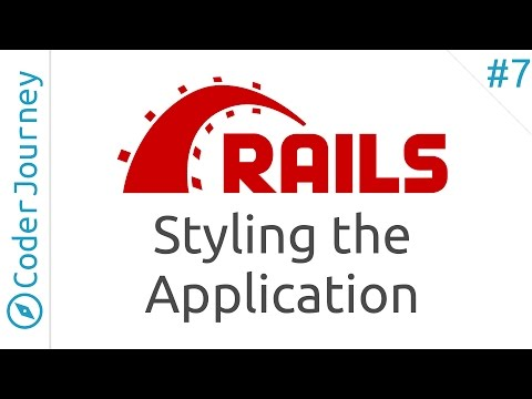 Learning Rails – Application Styling (Part 7)