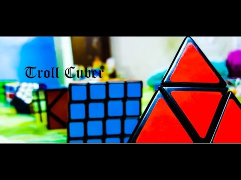 Different Types of Cubers|TROLL CUBER|