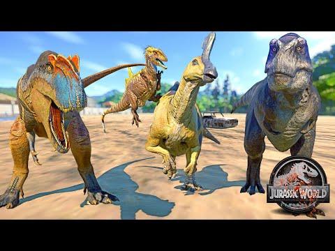 Stan T-REX, Yangchuanosaurus,