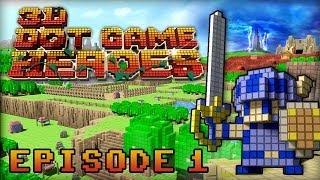 3D Dot Game Heroes | Episode 1 - Let