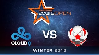 CS:GO - Cloud9 vs Gambit - Group B - Dust2 - DreamHack ZOWIE Open Winter 2016