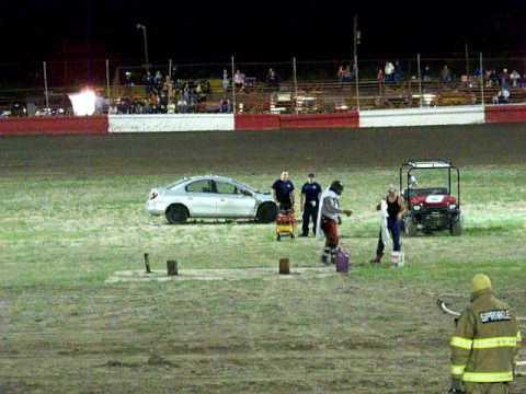 champion motor speedway stunt man #1