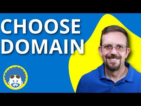 Domains - Choosing Domains