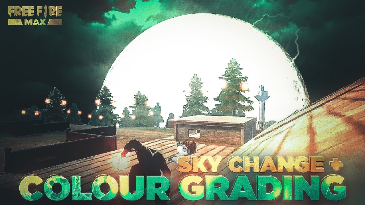 Free Fire Sky Change Video Editing Tutorial   Free Fire Montage Colour Grading Tutorial On Android ⚡