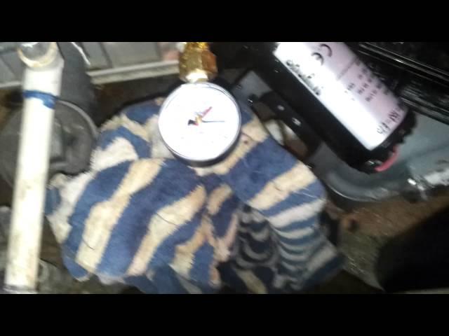 Shurflo 4048 4 gpm 55 psi test