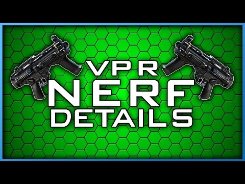 Huge VPR Nerf! | Was it Enough? (Infinite Warfare Patch Details)