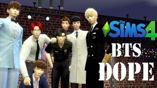�������� ���� The Sims 4 : BTS 방탄소년단 - DOPE 쩔어 【MMD】 ������