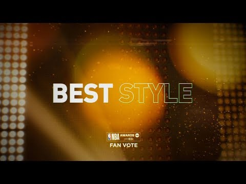 2018 NBA Awards - Best Style Nominees