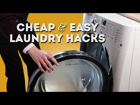Cheap & Easy Laundry Hacks - Secrets for Cleaner Clothes
