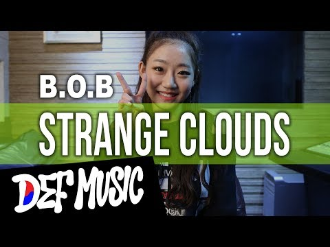 "[DEF Music Academy] Han Julie's Cover Rap B.O.B - ""Strange Clouds"""