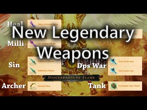 Order And Chaos Online New Legendary Weapons