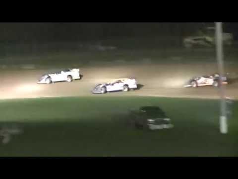 ULMS Super Late Model B-Main | McKean County Raceway | Fall Classic | 10.10.14