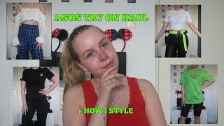 ASOS TRY ON HAUL + HOW I STYLE