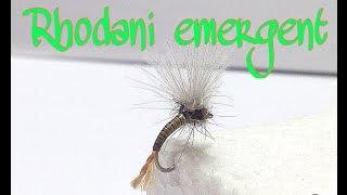 fly tying RHODANI EMERGENTE por Jorge G