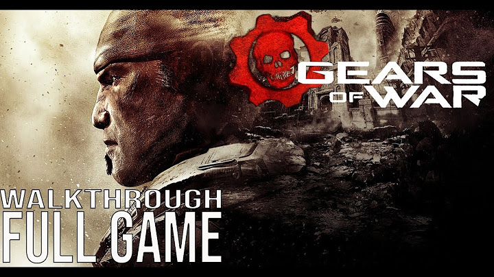 gears of war full game walkthrough  no commentary gears of war ultimate edition full game 2019