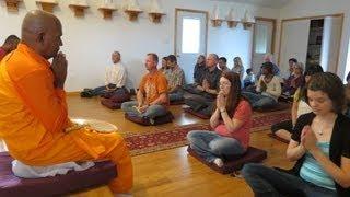 Karaniyametta Sutta dedicated to Bhante Anurudha Indiana Buddhist Temple